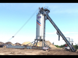 Бункер GENCOR 150 TON PORTABLE SELF-ERECT SILO